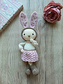 Hračky - Zajačica Ruženka - 11786279_