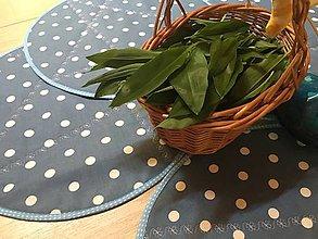 Úžitkový textil - prestierky DOTS - 11787166_