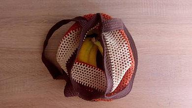Nákupné tašky - Sieťovka Líška - 11785779_