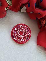 Odznaky/Brošne - Malé radosti (ručne vyšívaná brošňa) - 11788839_