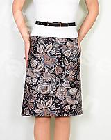 Sukne - Sukně z krásné rifloviny  vz.689 - 11789457_