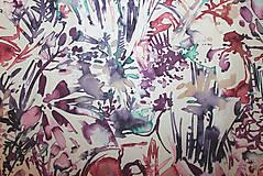 Sukne - Sukně z krásné rifloviny akvarel vz.691 - 11789475_