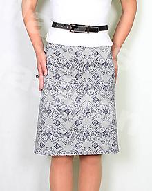 Sukne - Sukně z krásné rifloviny  vz.693 - 11789502_