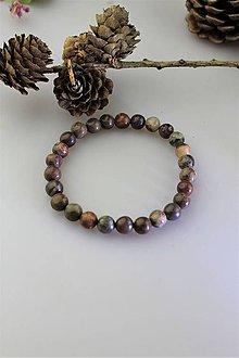 Náramky - jaspis náramok pánsky - 11790820_