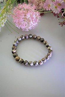 Náramky - pánsky náramok z jaspisu - nádherný prírodný jaspis - 11792085_