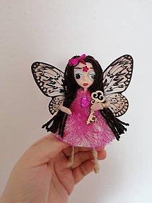 Dekorácie - Motýlia víla Olívia. - 11789728_