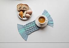 Úžitkový textil - Macramé Prestieranie - 11789041_