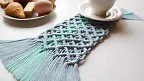 Úžitkový textil - Macramé Prestieranie - 11789045_