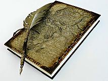 Papiernictvo - Diár cestovateľský,Travelers Diary,Luxusný cestovateľský denník - 11788583_