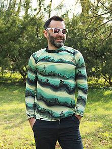 Tričká - Green Bikes - termo tričko pánske - 11788917_