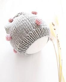 Detské čiapky - Cukríková čiapočka - 100% merino - 11789224_