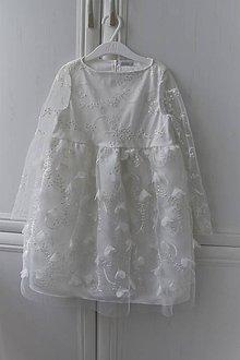 Detské oblečenie - Detské spoločenské šaty veľ.122 - 11789727_
