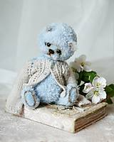 Hračky - Medvedík modrý - 11792780_