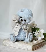 Hračky - Medvedík modrý - 11792781_