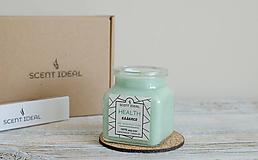 Svietidlá a sviečky - Lesný Nádych | Zdráva Sójová sviečka | 100% Esenciálne oleje | Aromaterapia   - 11795016_
