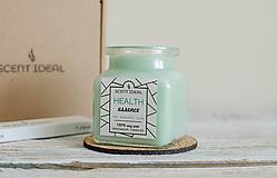 Svietidlá a sviečky - Lesný Nádych | Zdráva Sójová sviečka | 100% Esenciálne oleje | Aromaterapia   - 11795018_