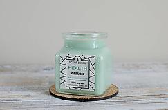 Svietidlá a sviečky - Lesný Nádych | Zdráva Sójová sviečka | 100% Esenciálne oleje | Aromaterapia   - 11795023_