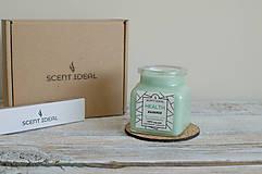 Svietidlá a sviečky - Lesný Nádych | Zdráva Sójová sviečka | 100% Esenciálne oleje | Aromaterapia   - 11795028_