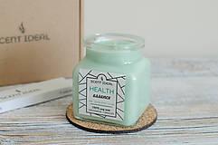 Svietidlá a sviečky - Lesný Nádych | Zdráva Sójová sviečka | 100% Esenciálne oleje | Aromaterapia   - 11795031_