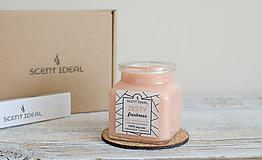 Svietidlá a sviečky - Pomarančová Záhrada | Zdráva Sójová sviečka | 100% Esenciálne oleje | Aromaterapia - 11795452_