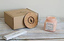 Svietidlá a sviečky - Pomarančová Záhrada | Zdráva Sójová sviečka | 100% Esenciálne oleje | Aromaterapia - 11795455_
