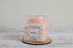 Svietidlá a sviečky - Pomarančová Záhrada | Zdráva Sójová sviečka | 100% Esenciálne oleje | Aromaterapia - 11795468_
