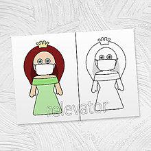 Hračky - Princezná Anna v rúšku - 11793490_