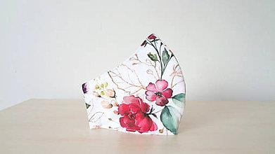 Rúška - Dizajnové rúško prémiová bavlna 2 vrstvové - 11799584_