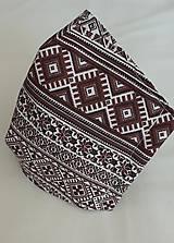 Rúška - Rúško pánske hnedé - 11800871_