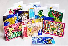 Dobrý obchod - Pohľadnice VIANOČNÉ - 11798636_