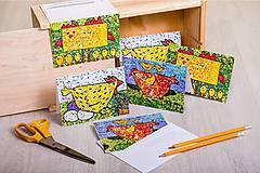 Dobrý obchod - Pohľadnice ZVIERATÁ - 11799299_