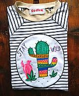 Tričká - Kaktus - 11800082_