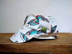 Detské čiapky - ŠILTOVKA - taká indiánska - 11801722_