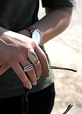 Prstene - Výrazný prsten Azure - 11805721_