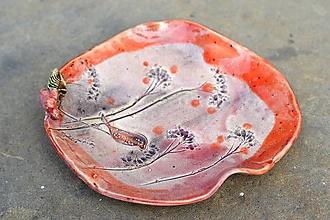 Nádoby - misa tanier príroda vtáčik - 11803744_