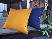 Úžitkový textil - Obliečka na vankúš Perfect Look Orange - 11806407_
