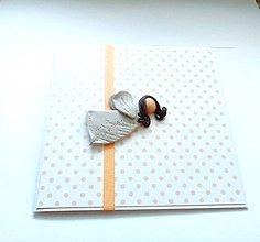 Papiernictvo - Pohľadnica ... môj anjelik - 11810709_