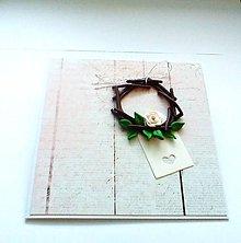 Papiernictvo - Pohľadnica ... venček - 11810763_
