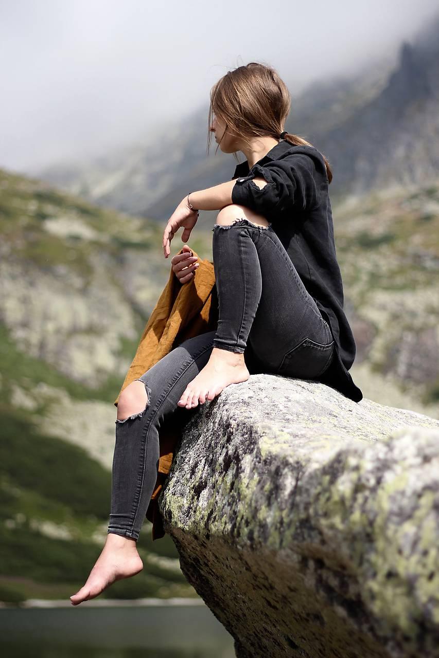 SIMONKA košeľa čierna