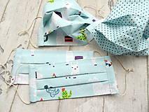 Rúška - Bavlnené rúška... detské ( 5 -12 rokov) - 11810383_