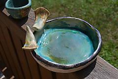 Socha - pítko, napájadlo pre vtáčikov, viď. doplnkové foto - 11808845_