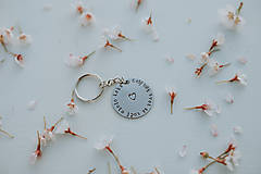Kľúčenky - Kľúčenka celý môj svet sa točí okolo teba - 11808204_