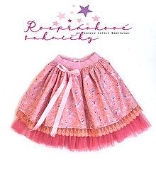 """Detské oblečenie - Rozprávková suknička """"Malá čarodejka"""" - 11807842_"""