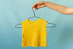 Detské oblečenie - Slniečkový detský top - 11808378_