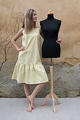 Šaty - ŽLUTÁ GEOMETRIE - 11808625_