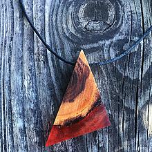 Náhrdelníky - Trojuholník do duše - 11810493_
