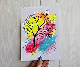 Kresby - Jeden strom - 11810412_