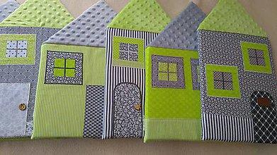 Úžitkový textil - Zástena na posteľ č. 10 - 11807845_