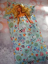 Hračky - Perinka pre Barbie - zajačiky na lúke - 11811588_