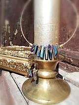 Sady šperkov - Krištáľový SET.: náhrdelník a zdarma náušnice z rovnakého materialu - 11810818_